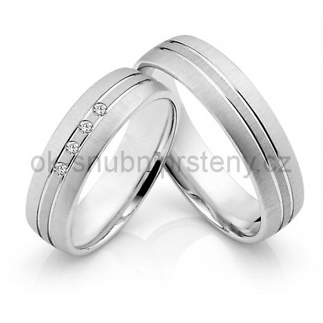 Snubní prsteny z chirurgické oceli OC1029 (Snubní prsteny z chirurgické oceli OC1029)