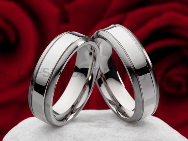 Snubní Titanové prsteny JT978 (Snubní prsteny JT978)