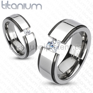 Snubní Titanové prsteny R-TM-3097 (Snubní prsteny R-TM-3097)