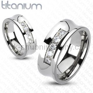 Snubní Titanové prsteny R-TM-3120 (Snubní prsteny R-TM-3120)