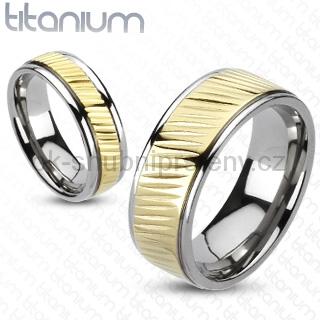 Snubní Titanové prsteny R-TM-3151 (Snubní prsteny R-TM-3151)