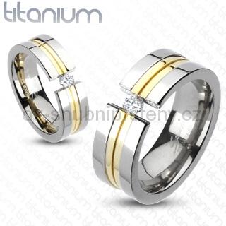 Snubní Titanové prsteny R-TM-3158 (Snubní prsteny R-TM-3158)