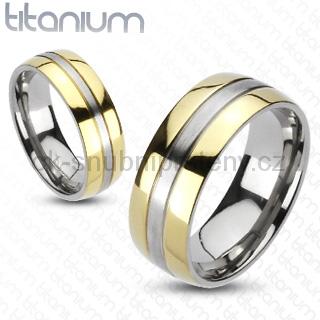Snubní Titanové prsteny R-TM-3042 (Snubní prsteny R-TM-3042)