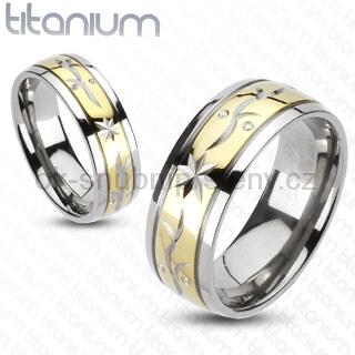 Snubní Titanové prsteny R-TM-3053 (Snubní prsteny R-TM-3053)
