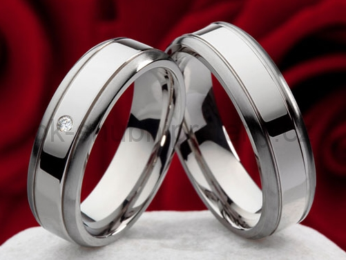 Snubní Titanové prsteny JT981 (Snubní prsteny JT981)