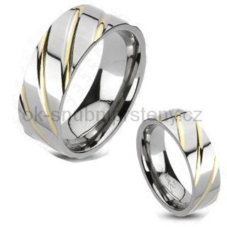 Titanové prsteny R-TM-3036 (Snubní prsteny R-TM-3036)