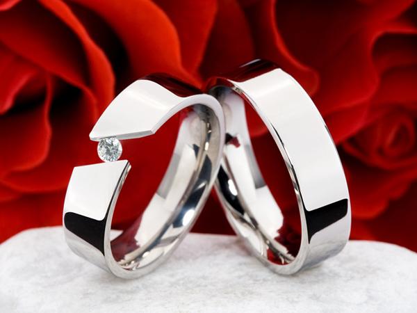 Snubní Titanové prsteny JT010 (Snubní prsteny JT010)
