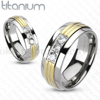Snubní Titanové prsteny R-TM-3170 (Snubní prsteny R-TM-3170)