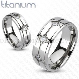 Snubní Titanové prsteny R-TM-3150 (Snubní prsteny R-TM-3150)