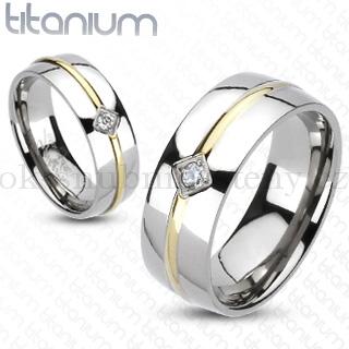 Snubní Titanové prsteny R-TM-3087 (Snubní prsteny R-TM-3087)