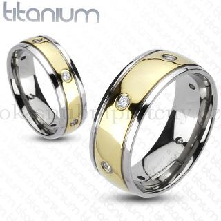 Snubní Titanové prsteny R-TM-3030 (Snubní prsteny R-TM-3030)