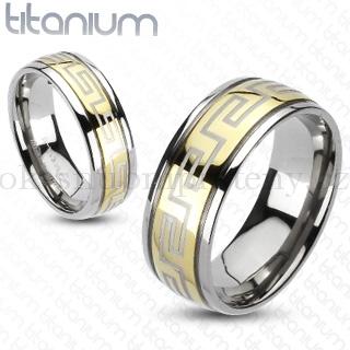 Snubní Titanové prsteny R-TM-3054 (Snubní prsteny R-TM-3054)