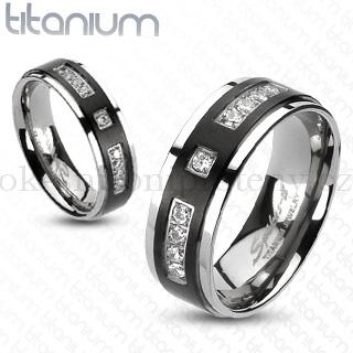 Snubní Titanové prsteny R-TI-4317 (Snubní prsteny R-TI-4317)