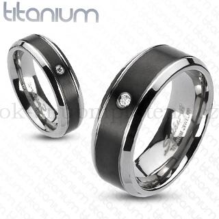 Snubní Titanové prsteny R-TI-3582 (Snubní prsteny R-TI-3582)