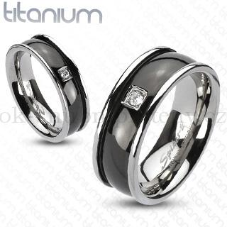 Snubní Titanové prsteny R-TI-3638 (Snubní prsteny R-TI-3638)