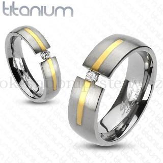 Snubní Titanové prsteny R-TI-3389 (Snubní prsteny R-TI-3389)