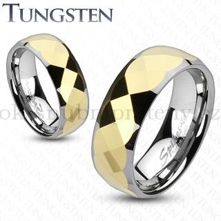 Wolframové snubní prsteny R-TU-157 (Wolframové snubní prsteny R-TU-157)