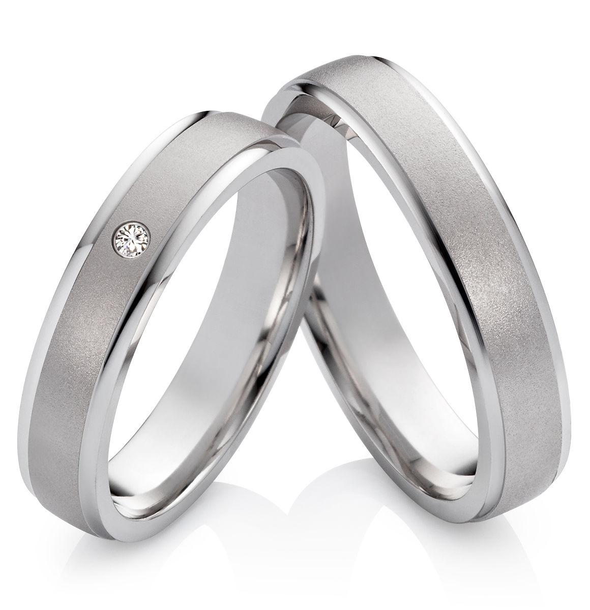 Snubní prsteny z chirurgické oceli OC1018 (Snubní prsteny OC1018)