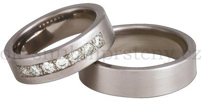 Snubní Titanové prsteny T200-6xT200-6 (Snubní prsteny T200-6xT200-6)