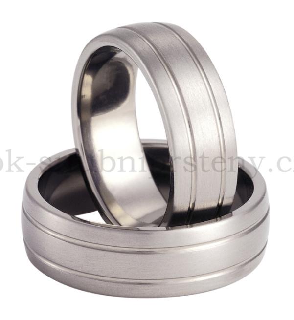 Snubní Titanové prsteny T11-7 (Snubní prsteny T11-7)