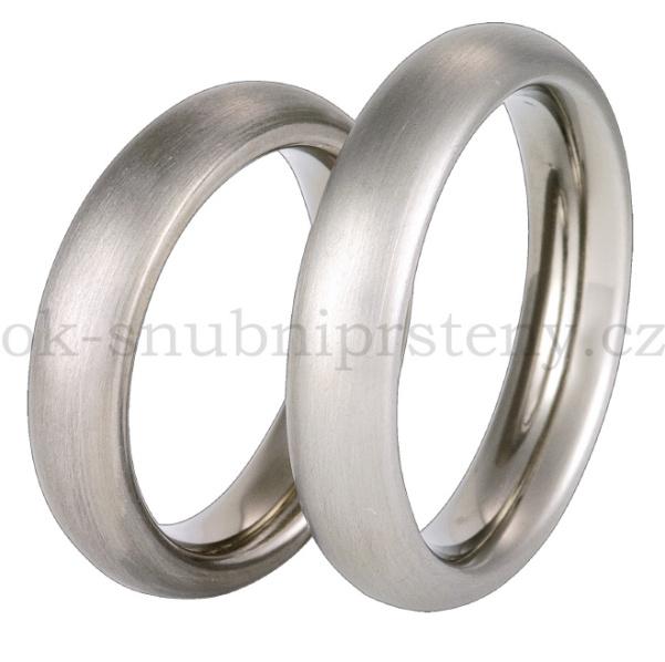 Snubní Titanové prsteny T36-5 (Snubní prsteny T36-5)