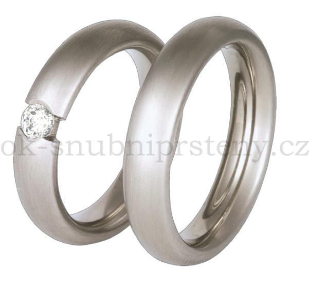 Snubní Titanové prsteny T36-5k (Snubní prsteny T36-5k)