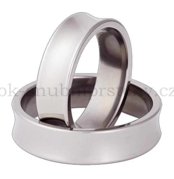 Snubní Titanové prsteny T67-6 (Snubní prsteny T67-6)
