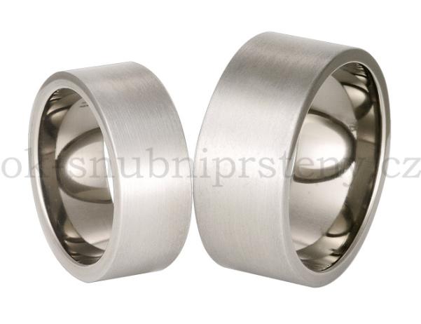 Snubní Titanové prsteny T70-8 (Snubní prsteny T70-8)