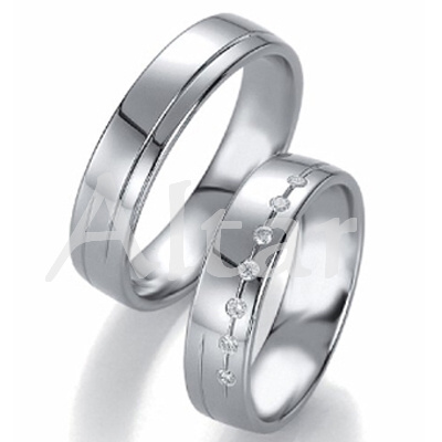 Snubní Titanové prsteny JT1551 (Snubní prsteny JT1551)