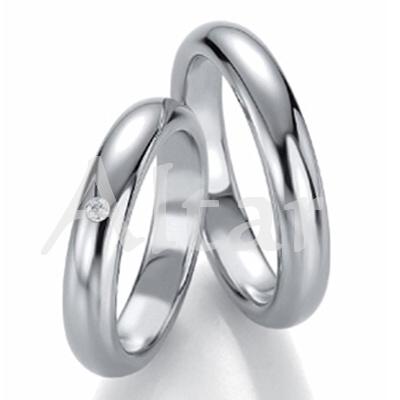 Snubní Titanové prsteny JT1550 (Snubní prsteny JT1550)