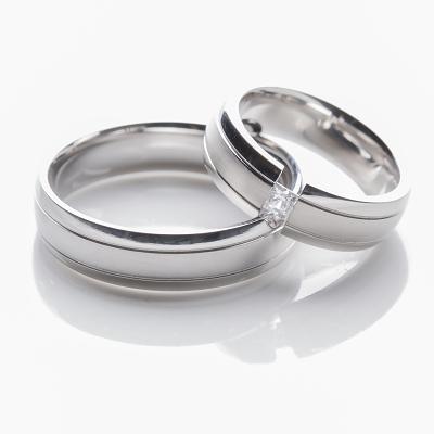 Snubní prsteny OC1019 (Snubní prsteny z chirurgické oceli OC1019)