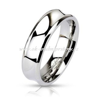 Snubní prsteny z chirurgické oceli R-M0020 (Snubní prsteny R-M0020)