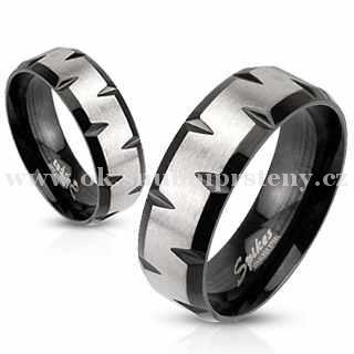Snubní prstýnky z chirurgické oceli R-M1180 (Snubní prsteny R-M1180)