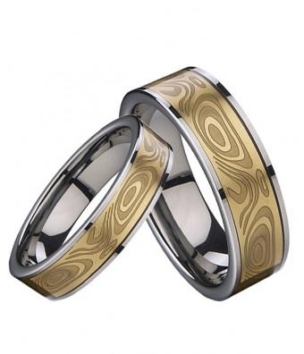Wolframové snubní prsteny R-TU-104