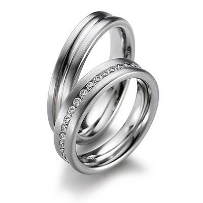Snubní prsteny z chirurgické oceli OC1052