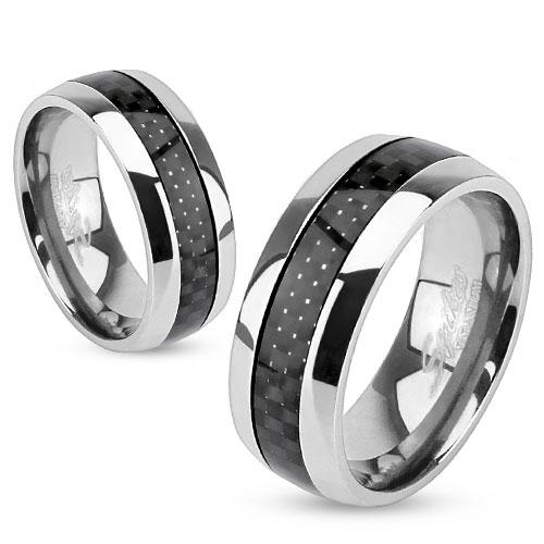 Snubní prsteny chirurgická ocel 1 pár HWRM0004
