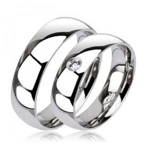 Snubní prsteny Marre chirurgická ocel 1 pár MAR112