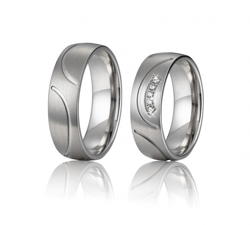 Snubní prsteny chirurgická ocel OC1045