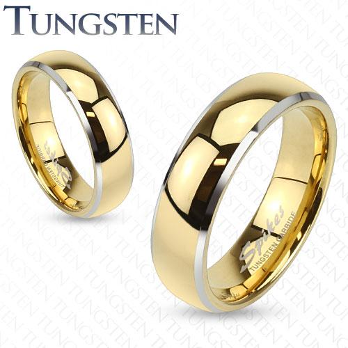 Luxusní wolframové prsteny R-TU-184