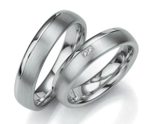 Snubní prsteny z chirurgické oceli OC1062