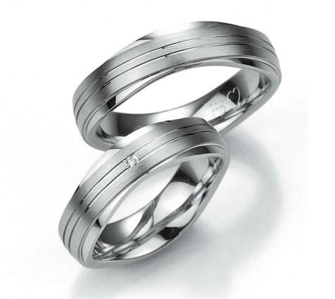 Snubní prsteny z chirurgické oceli OC1065
