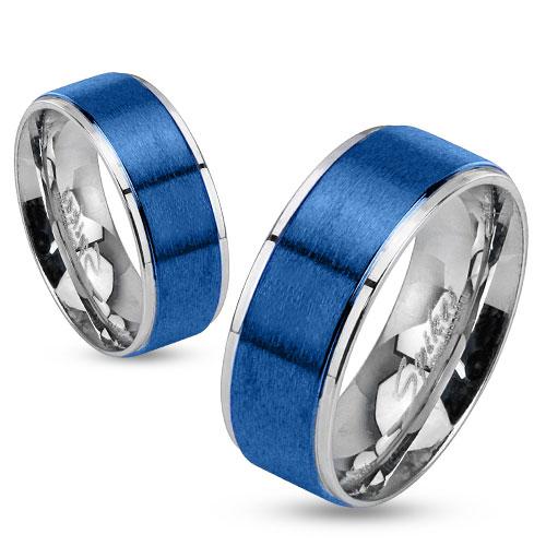 Snubní prsteny chirurgická ocel 1 pár HWRM0026 (Dárkové balení zdarma)