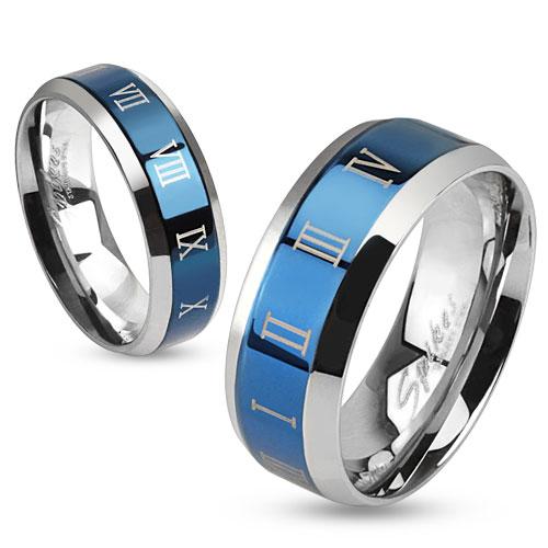 Snubní prsteny chirurgická ocel 1 pár HWRM0030 (Dárkové balení zdarma)