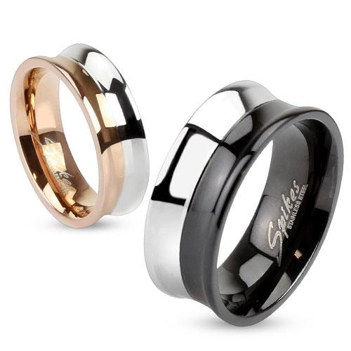 Snubní prsteny chirurgická ocel 1 pár HWRM2993 (Dárkové balení zdarma)