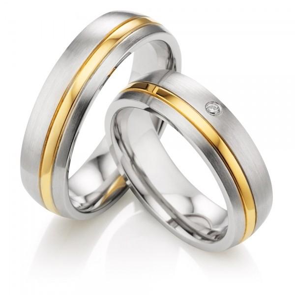 Snubní prsteny z chirurgické oceli OZ1013