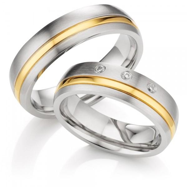 Snubní prsteny z chirurgické oceli OZ1014