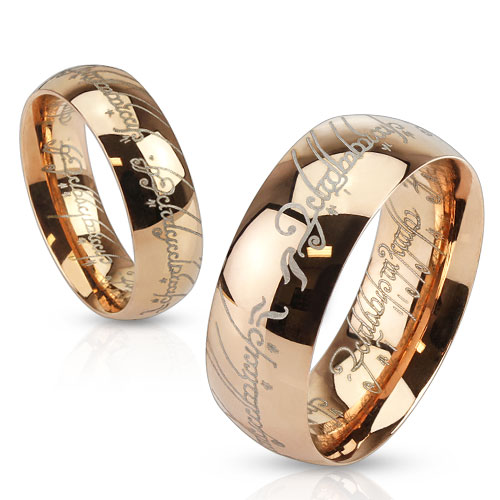 Snubní prsteny z chirurgické oceli R-M3871