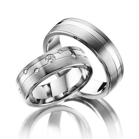 Snubní Titanové prsteny JT017