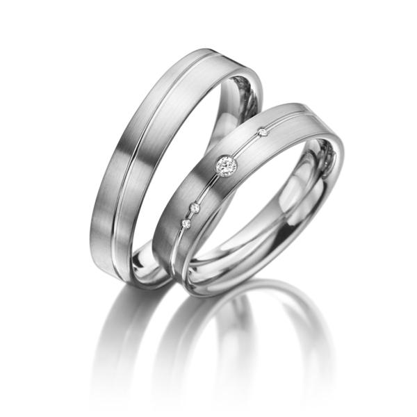 Snubní Titanové prsteny JT018