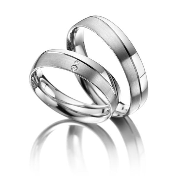 Snubní Titanové prsteny JT019